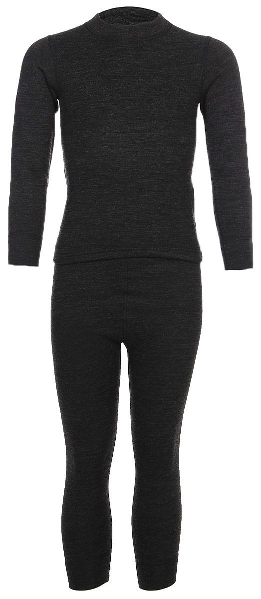 Комплект термобелья детский Montero, цвет: черный. MCLWPK 0102. Размер 152/158 лыжное термобелье детское simple warm