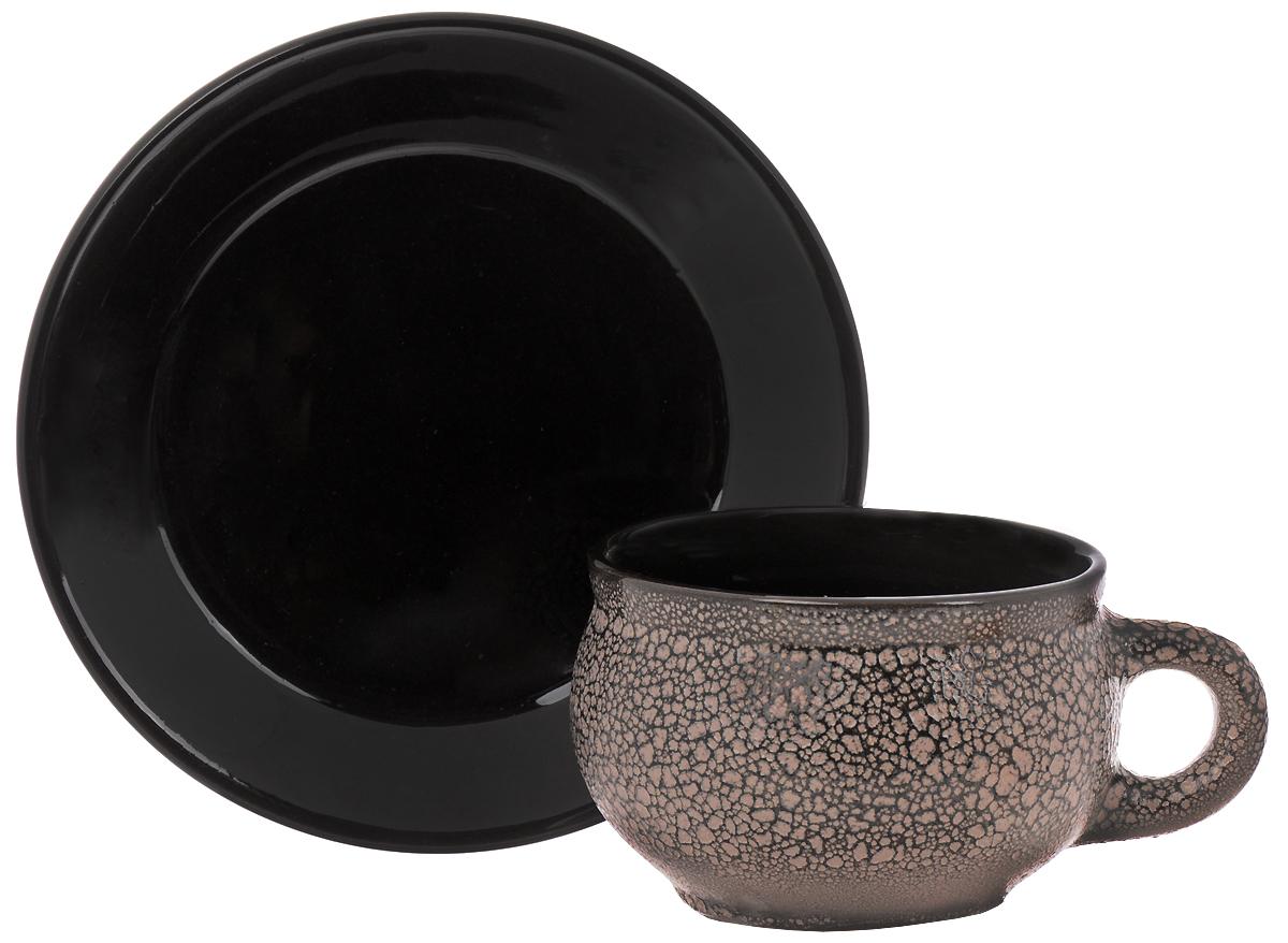Чайная пара Борисовская керамика, 250 мл1982793Чайная пара Борисовская керамика состоит из чашки и блюдца, изготовленных из высококачественной керамики. Такой набор украсит ваш кухонный стол, а также станет замечательным подарком к любому празднику. Можно использовать в микроволновой печи и духовке.