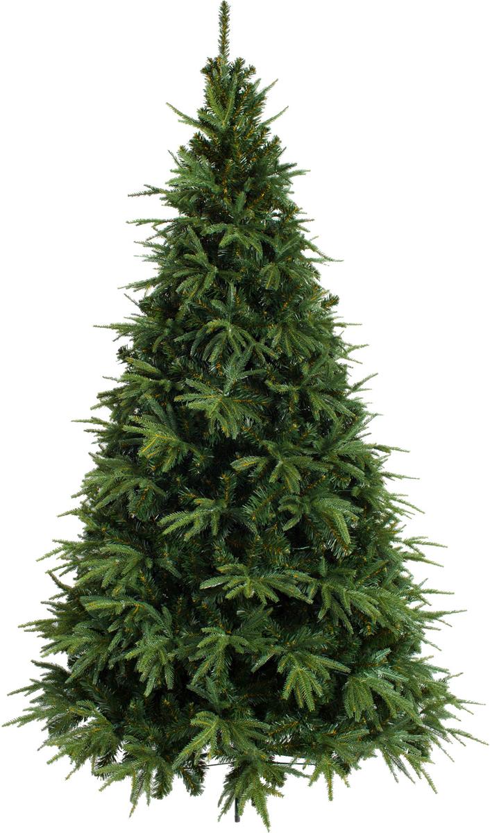 Ель искусственная Crystal Trees Альба, 210 смKP3121Crystal Trees Искусственная Ель Альба - Елка сделана из смешанной хвои (Резина+ ПВХ ), благодаря чему смотрится более натуральной. Ветки направленные в разные стороны, придают ели эффект натуральности, как в диком зимнем лесу.Благодаря откидным веткам, елка проста в сборке и абсолютно безопасна для детей.