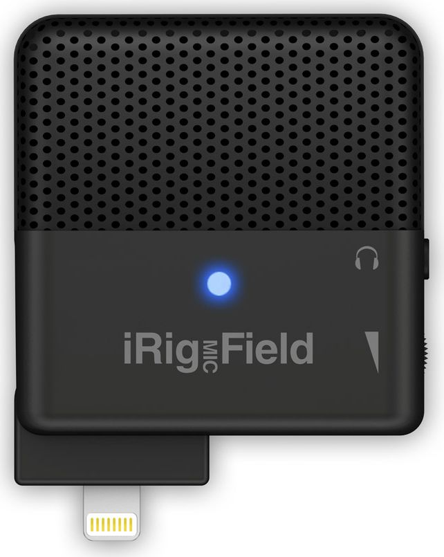 IK Multimedia iRig Mic Field микрофонIP-IRIG-FIELD-IN