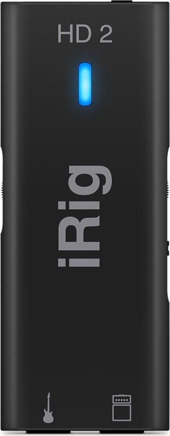 IK Multimedia iRig HD 2 мобильный интерфейс