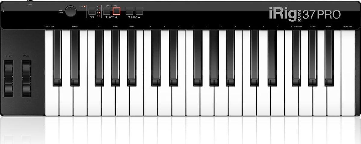 IK Multimedia iRig Keys 37 Pro, Black MIDI-клавиатура