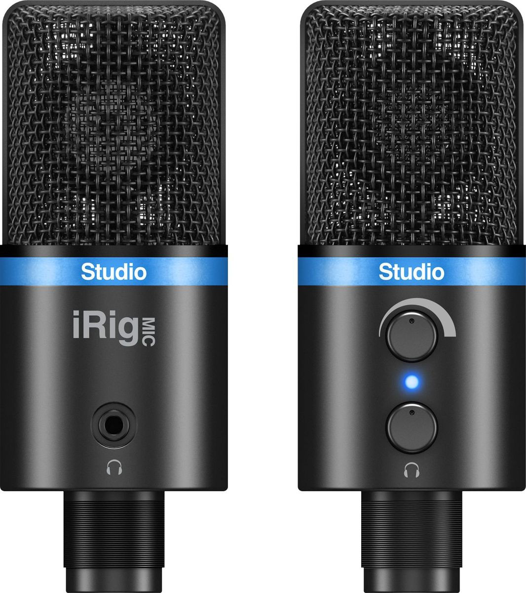 IK Multimedia iRig Mic Studio микрофонIP-IRIG-MICSTDBLA-IN
