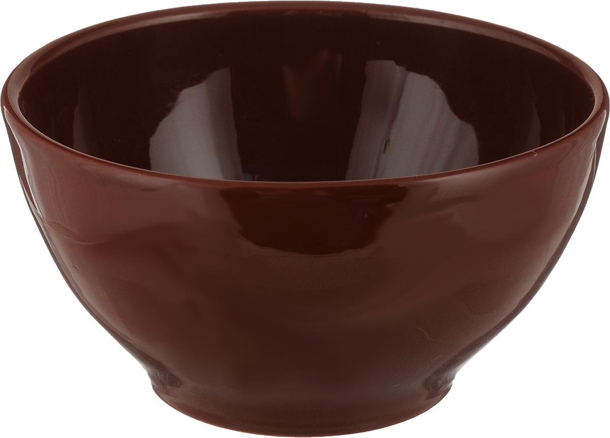 Салатник Борисовская керамика Радуга, цвет: темно-коричневый, 600 млРАД00000530_темно-коричневыйСалатник Радуга выполнен из высококачественной керамики. Яркий дизайнпридется по вкусу и ценителям классики,и тем, кто предпочитает утонченность и изысканность. Салатник Борисовская керамика Радуга идеально подойдет для сервировкистола и станет отличным подарком к любому празднику.Можно использовать в духовке и микроволновой печи.Диаметр (по верхнему краю): 13,5 см.Высота: 7 см. Объем: 600 мл.