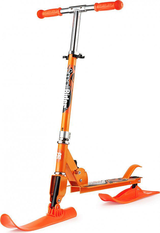 Самокат-снегокат Small Rider  Combo Runner 145 , с лыжами и колесами, цвет: оранжевый - Санки и снегокаты