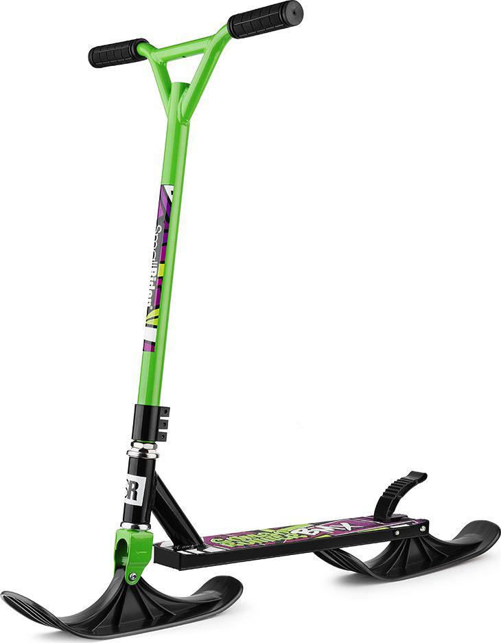 Самокат-снегокат Small Rider Combo Runner BMX, с лыжами и колесами, цвет: зеленый1425134Самокаты-снегокаты - это новое зимнее развлечение для детей. Этот маленький транспорт имеет в наборе и лыжи, и колеса. Мы представляем целых 3 модели в данном сегменте!В теплое время года Вы можете установить колеса, а в холодное - лыжи.Combo Runner BMXПреимущества модели:1) Самокат предназначен для трюков в режиме колеса, а также более устойчив при спуске со снежной горки в режиме лыжи;2) Руль имеет специальную фиксированную форму, и не регулируется по высоте. То есть в его строении используется минимум соединений для катании при повышенных нагрузках;3) Рулевая колонка также имеет специальную конструкцию, с усилением у основания. Она не предполагает складывание, чтобы добиться ощущения цельности и послушности самоката при выполнении трюков.4) Как у всех моделей Комбо Раннер в комплекте поставки идут и колеса, и лыжи;5) Удобные резиновые рукоятки для более жесткого сцепления;6) В режиме с колесами у самоката есть задний тормозНовые ощущения для любителей трюковых самокатовЕсли Вам надоел трюковый самокат, и Вы хотите большего - например, изучения и практики новых трюков на снежной горке, то данный комбо-самокат для Вас. Этот новый экшен-трансформер также позволит Вам заниматься трюками круглый год, и поможет взглянуть на самокат под новым углом. Возможно, это подстегнет Вашу фантазию, и Вы придумаете еще больше новых трюков на самокате с колесами!Самокат на круглый годНе ограничивайте себя в катании! Это Ваш стиль жизни, Ваше любимое провождение времени, так зачем класть самокат на полку, если Вас ждет новый вызов в режиме с лыжами!Целых 3 модели в коллекцииВ коллекции самокатов-снегокатов Small Rider Combo Runner представлено три модели, рассчитанные на своего пользователя.?Модель Combo Runner 120 подойдет детям помладше - от 5 лет, для которых комфортны более мелкие колеса (PU 120 мм). Также эта модель самая доступная по цене.Модель Combo Runner 145 имеет уже в наборе колеса PU
