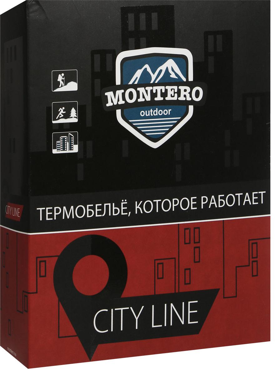 Комплект термобелья мужской Montero, цвет:  черный.  MCLWА 0102.  Размер 56/58