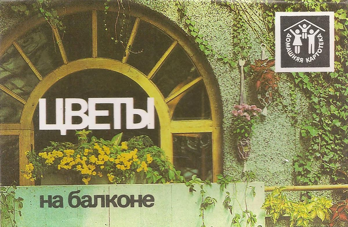 Цветы на балконе (набор из 12 открыток) ирина круглова максим китаев хеллоу хуман набор из 12 открыток