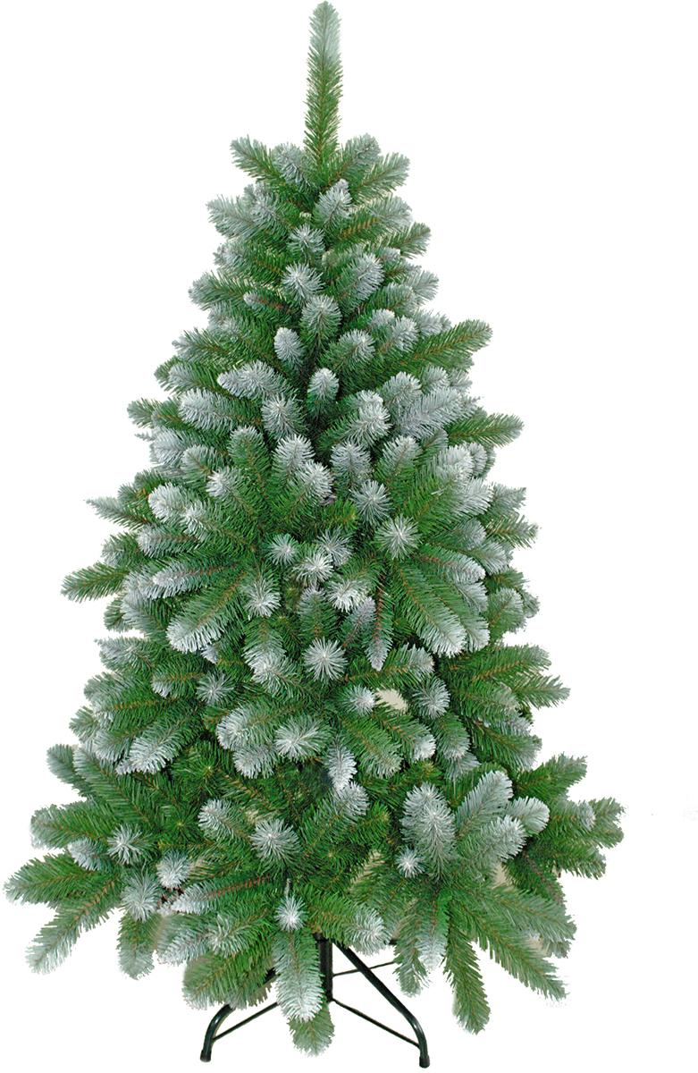 Ель искусственная Crystal Trees Триумфальная, заснеженная 210 смKP8321Crystal Trees Искусственная Ель Триумфальная заснеженная - Ель Триумфальная, безоговорочный лидер, красота и изящность этой елочки не оставит равнодушных даже самого капризного покупателя. Зимняя красавица, выполненная из заснеженной ПВХ пленки, выглядит натурально, будто ее только принесли из леса. Собирается елочка из вставных ветвей, которые выполнены из нержавеющего металла, с цветовыми обозначениями, что не даст запутаться при сборки. В комплекте идет 4 - х ножная металлическая подставка, в которую вставляется ствол и крепится с помощью винтов. Качественный материал, и сохранение всех норм производства ели, позволяют гарантировать её использование не менее 12 лет.