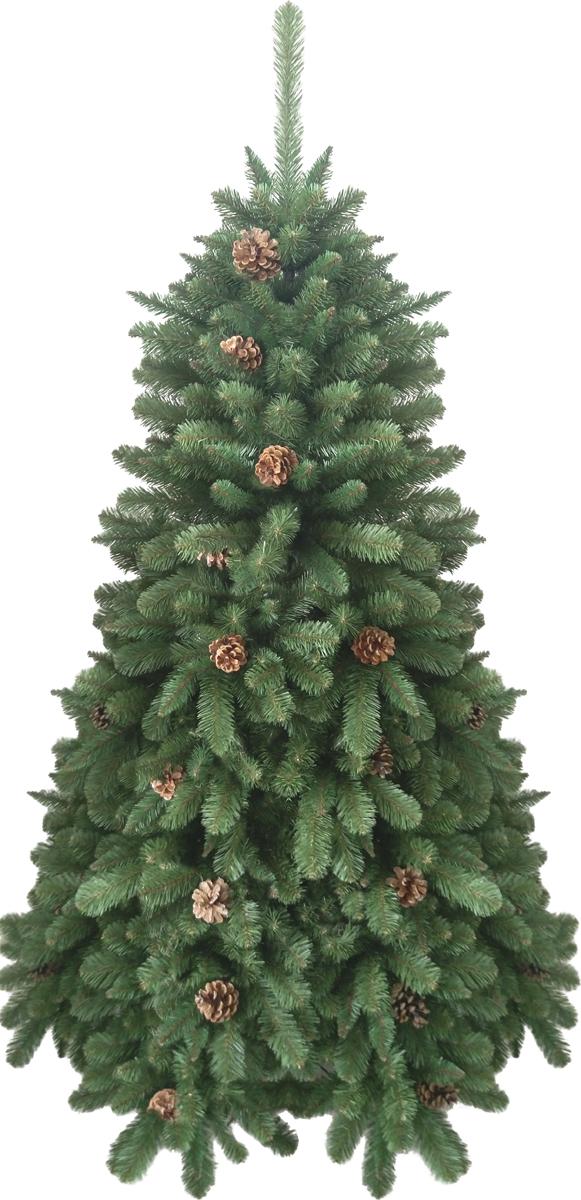 Ель искусственная Crystal Trees Триумфальная, с шишками 120 смKP8512Crystal Trees Искусственная Ель Триумфальная с шишками - Ель Триумфальная, безоговорочный лидер, красота и изящность этой елочки не оставит равнодушных даже самого капризного покупателя. Пушистая красавица, выполненная из ПВХ пленки, украшенная шишками, радует сердце своей оригинальностью. Елочка собирается из вставных ветвей, которые выполнены из нержавеющего металла, а цветовые обозначения, позволят собрать елочку даже новичку в этом деле.В комплекте идет 4 - х ножная металлическая подставка, в которую вставляется ствол и крепится с помощью винтов.Качественный материал, и сохранение всех норм производства ели, позволяют гарантировать её использование не менее 12 лет.
