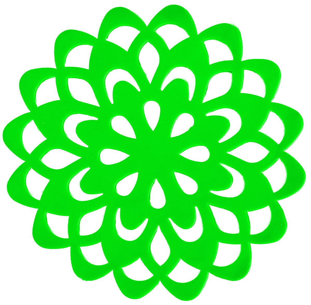 Набор подставок под горячее Доляна Воспоминание, цвет: зеленый, диаметр 10 см, 4 шт1153293_зеленыйНабор Доляна Воспоминание состоит из 4 силиконовых подставок под горячее. Силиконовая подставка под горячее - практичный предмет, который обязательно пригодится в хозяйстве. Изделие поможет сберечь столы, тумбы, скатерти и клеёнки от повреждения нагретыми сковородами, кастрюлями, чайниками и тарелками.