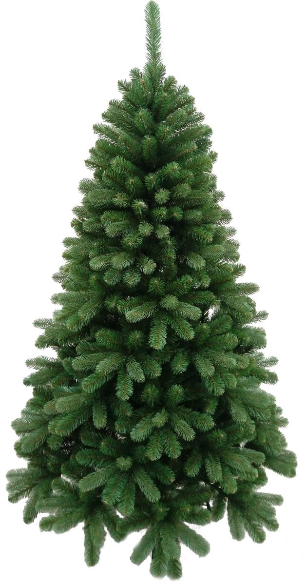 Ель искусственная Crystal TreesЧезана, 210 смKP9121Crystal Trees Искусственная Ель Чезана - Пышная красавица Ель Чезана, выполненная из смешанной хвои, резины и пленки ПВХ, завораживает взгляды своей натуральной и изысканной красотой. При своих эксклюзивных формах в сборке елочка проста, вставные ветви крепятся с помощью крючков, на которых цветовые обозначения не дадут Вам запутаться. В комплекте идет 4 - х ножная металлическая подставка, которая обеспечит надежную установку елки в любой части дома. Качественный материал, и сохранение всех норм производства ели, позволяют гарантировать её использование не менее 12 лет.