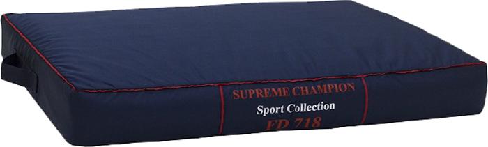 Лежак FunDays Спорт, цвет: синий, 10 x 60 x 75 см1176