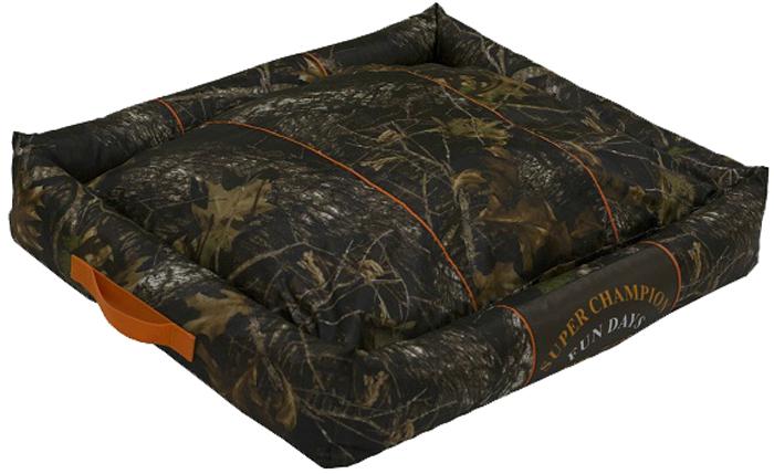 Лежак с бортами FunDays, цвет: коричневый, 17 x 60 x 75 см11234 MМягкий лежак несомненно понравится вашему питомцу. Благодаря бортикам ему будет очень уютно.
