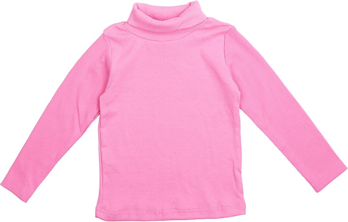 Водолазка для девочки JimJim, цвет: розовый. DP107. Размер 86DP107Великолепная детская водолазка JimJim идеально подойдет вашему ребенку. Изготовленная из натурального хлопка с добавлением эластана, она необычайно мягкая и приятная на ощупь, не сковывает движения малыша и позволяет коже дышать, не раздражает даже самую нежную и чувствительную кожу ребенка, обеспечивая ему наибольший комфорт. Водолазка классического кроя с длинными рукавами и воротником-гольф. Оригинальный современный дизайн и модная расцветка делают эту водолазку модным и стильным предметом детского гардероба.
