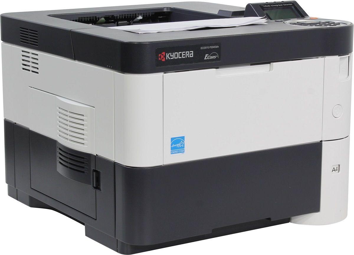Kyocera Ecosys P3045dn лазерный принтерP3045dnKyocera Ecosys P3045dn - это модель начального уровня нашей новой линейки устройств Ecosys, отличающаяся высокой производительностью и компактностью, что делает ее незаменимой для небольших компаний и рабочих групп.Скорость печати устройства достигает 45 страниц в минуту, а время выхода первого отпечатка не превышает 5,9 секунд.Поддержка функций мобильной печати и широкие возможности обработки бумаги в сочетании с четырьмя дополнительными податчиками бумаги – это залог непревзойденной гибкости устройства. Долговечные компоненты устройства минимизируют ваши расходы и воздействие на окружающую среду. Струйный или лазерный принтер: какой лучше? Статья OZON Гид
