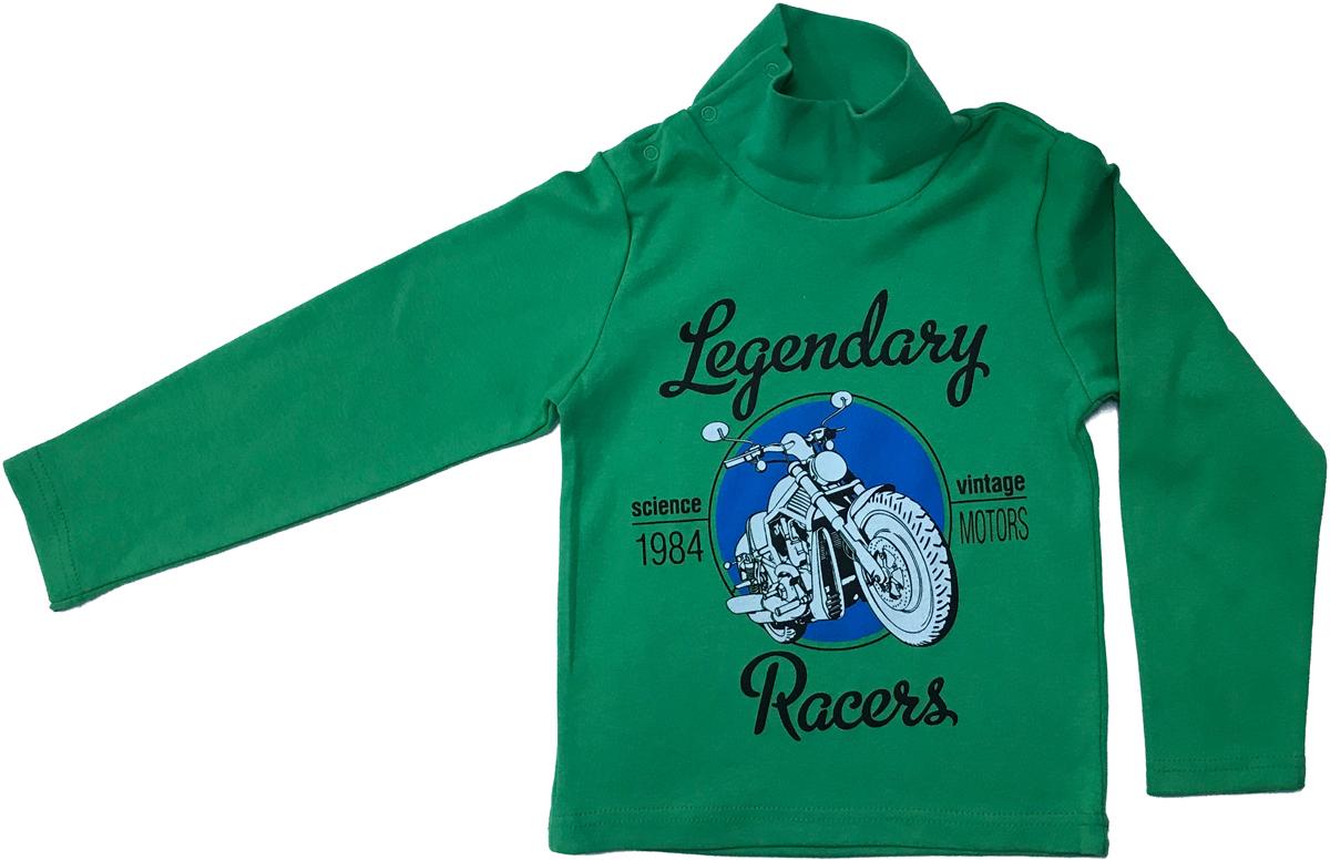 Водолазка для мальчика Arge Fashion, цвет: зеленый. MRM-15B-42 7003-9. Размер 128 6colors fashion 100