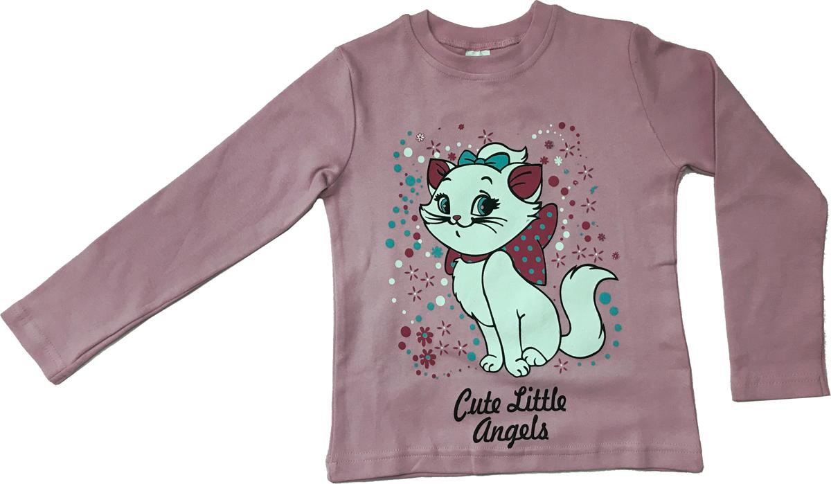 Джемпер для девочки Arge Fashion, цвет: светло-розовый. MRM-15B-42-14. Размер 116MRM-15B-42-14