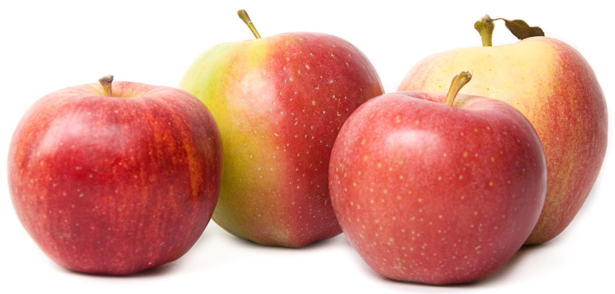 Яблоки сезонные, упаковка