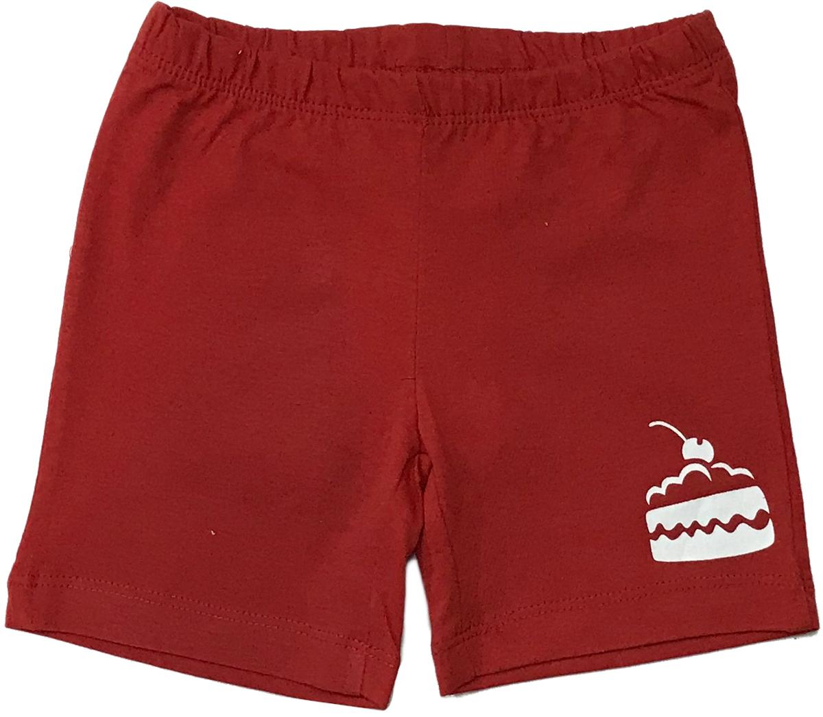 Шорты для девочки Arge Fashion, цвет: красный. УЗТ-ШД-001-4. Размер 122УЗТ-ШД-001-4
