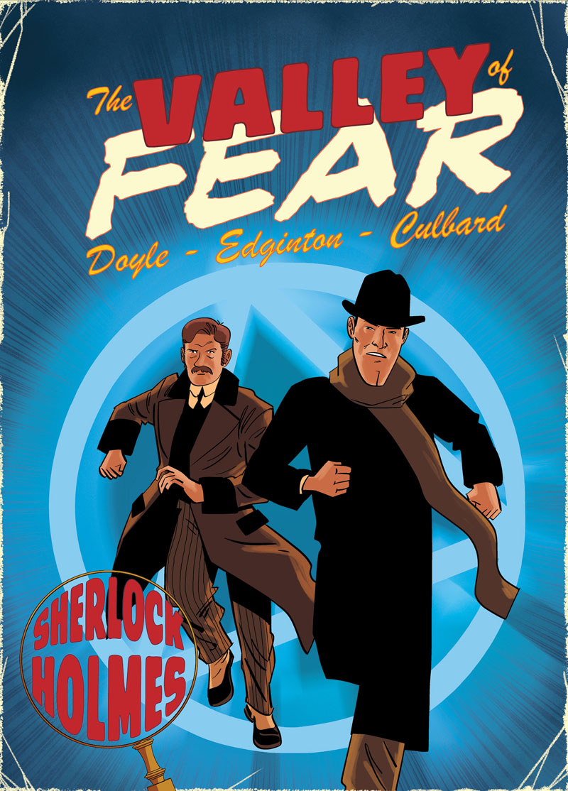 Valley of Fear. A Sherlock Holmes Graphic Novel gentleman in the parlour