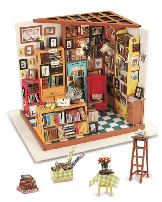 Набор для изготовления игрушки ТМ Цветной  Книжный магазинчик  - Игрушки своими руками