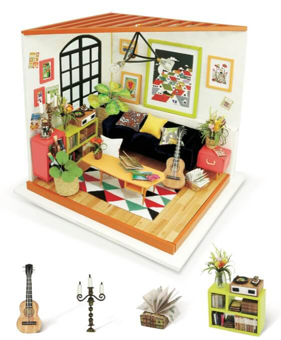 Набор для изготовления игрушки ТМ Цветной  Гостиная музыканта  - Игрушки своими руками