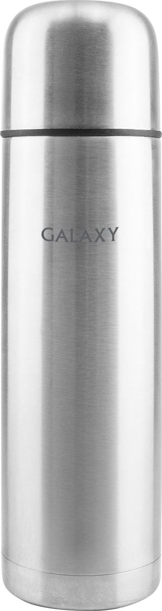 Термос Galaxy, 1 лгл9401Объем 1 л, высококачественная нержавеющая сталь,колба из нержавеющей стали 18/10, крышка-чашка, удобная пробка.