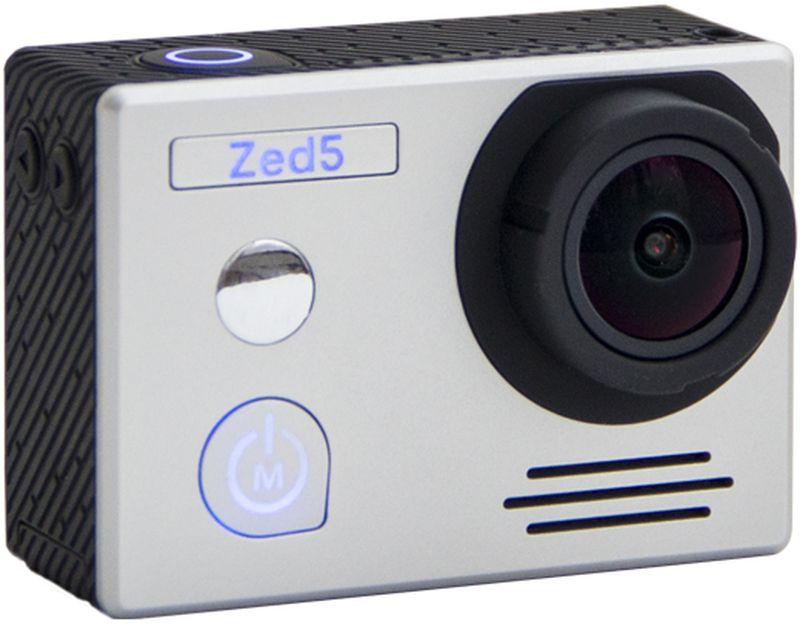 AC-Robin ZED5, Silver экшн-камераАК-00000829Экшн-камера AC-Robin Zed5 дает возможность делиться своими впечатлениями в отличном качестве. Вы можете прыгать с парашютом, кататься на сноуборде или погрузиться в морские глубины – эта камера справится с любыми задачами!6-ти осевая схема стабилизации позволяет получать четкое изображение при съемки с рук или движущегося объекта.Сенсор SONY IMX117 - сенсор нового поколения от SONY отличается от сенсоров предыдущего поколения более широким динамическим диапазоном, меньшим уровнем потребления энергии и повышенным быстродействием.Отверстие с резьбой для стандартного винта крепления фотокинотехники 1/4, удобная загрузка карты памяти, крышка аккумуляторного отсека с защелкой, зеркало для селфи.Профессиональные крепления iSHOXS уже в коробке! А также - внешний микрофон, защитный корпус, крепежи для велосипедных и мотоциклетных рам, наклейки и крепления на другие поверхности.Пользоваться экшен камерами AC-Robin легко и просто. Техника имеет российское меню и эргономичный пользовательский интерфейс.Как выбрать экшн-камеру. Статья OZON Гид