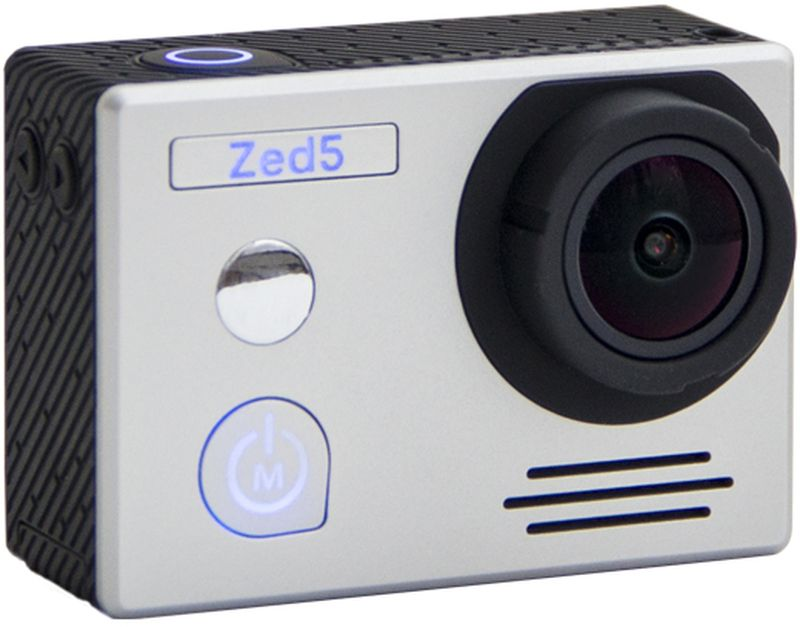 AC-Robin ZED5, Silver экшн-камераАК-00000829Экшн-камера AC-Robin ZED5 серебристаяКак выбрать экшн-камеру. Статья OZON Гид