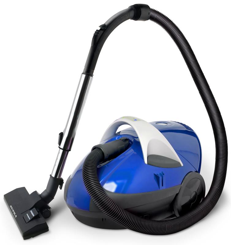 Supra VCS-2086, Dark Blue пылесосVCS-2086Циклонический пылесос с эффективным водяным фильтром превращает уборку любой степени сложности в легкую прогулку. Мощный мотор (1800 Вт) обеспечивает высокую скорость и эффективность борьбы с загрязнениями. Подспорьем служит и универсальная турбо-щётка, существенно превосходящая обычную по качеству уборки всех видов поверхности.Как выбрать пылесос. Статья OZON Гид