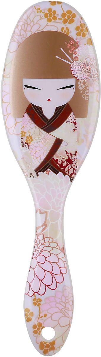 Kimmidoll Расческа для волос, цвет: светло-розовый. KF1171KF1171Такая расческа станет отличным подарком и незаменимым аксессуаром. Она, несомненно, удивит и порадует его получателя.