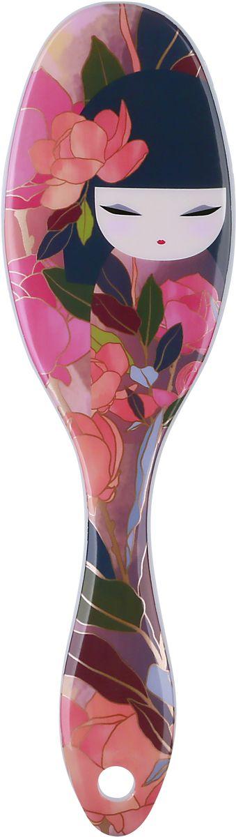 Kimmidoll Расческа для волос, цвет: розовый. KF1172KF1172Такая расческа станет отличным подарком и незаменимым аксессуаром. Она, несомненно, удивит и порадует его получателя.
