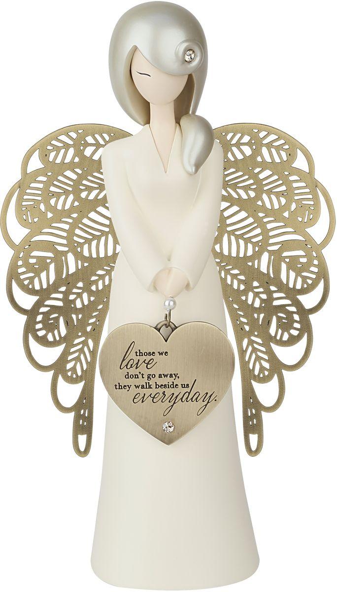 Статуэтка You are an Angel Те, кого мы любим, не уходят, они всегда рядом с нами, 10,5 x 17,5 смALF002Статуэтка You are an Angel выполнена из полирезина с элементами металла. На протяжении всей вашей жизни, вы встречаете людей, которые формируют ваше будущее различными способами.Это - ваши родные, близкие, родственники, друзья, с которыми вы дружите с детства, или просто знакомые, с которыми вы пересекаетесь на вашем жизненном пути. Они оставляют неизгладимые впечатления в вашей памяти и в вашей душе благодаря своей заботе, любви, поддержке и пониманию.Коллекция Вы - Ангел была создана, чтобы выразить особенные слова благодарности и признания этим значимым людям. Они - наши герои и образцы для подражания, которых мы никогда не забудем. Они - наши Ангелы!