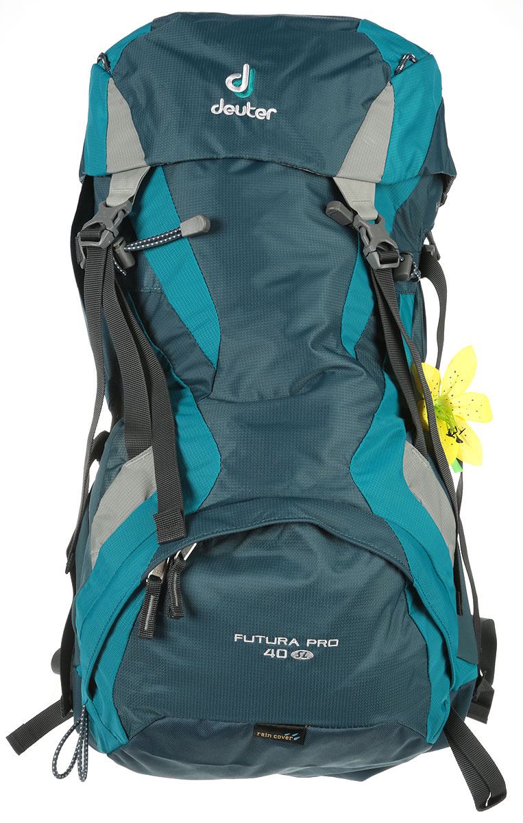 Рюкзак туристический Deuter Futura Pro, цвет: голубой, 40 л рюкзак deuter daypacks giga pro midnight dresscode