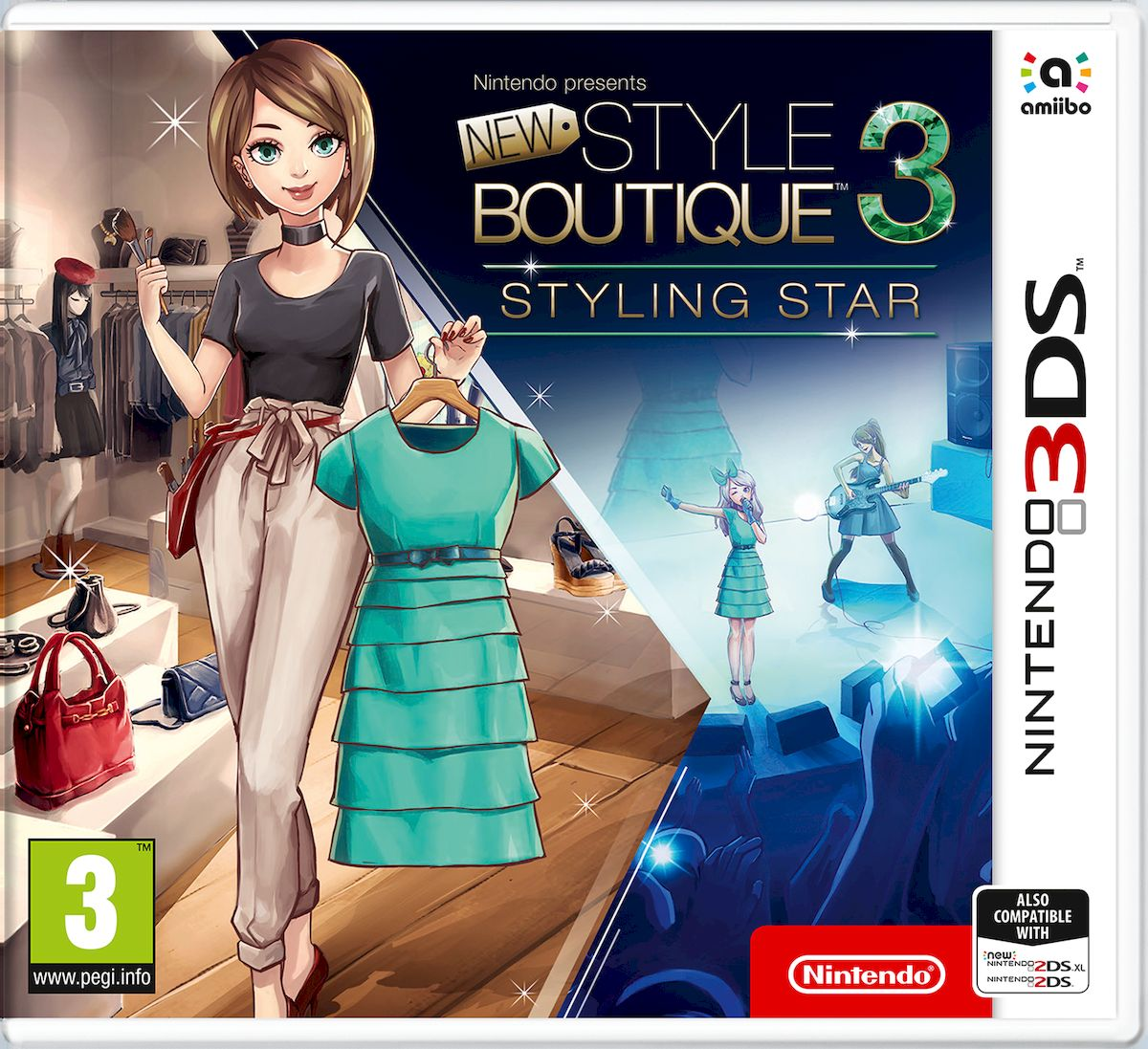 Zakazat.ru Nintendo Presents: New Style Boutique 3 - Styling Star (3DS)