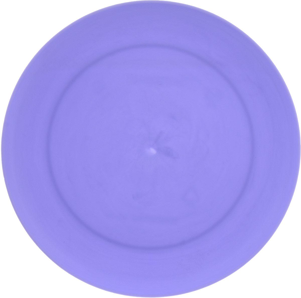 Тарелка Gotoff, цвет: сиреневый, диаметр 23,5 смWTC-273_сиреневыйКруглая тарелка Gotoff выполнена из прочного пищевого полипропилена. Изделие отлично подойдет как для холодных, так и для горячих блюд. Его удобно использовать дома или на даче, брать с собой на пикники и в поездки. Отличный вариант для детских праздников. Такая тарелка не разобьется и будет служить вам долгое время.
