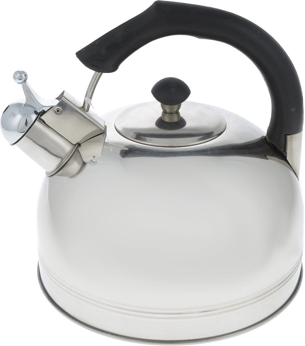 Чайник Bohmann, со свистком, 4 л. 9980-4BHBK чайник bohmann со свистком цвет мраморный зеленый 4 5 л bhl 644