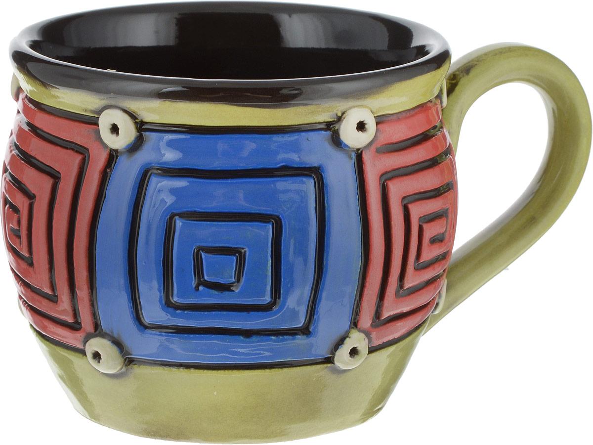 Чашка чайная Борисовская керамика Хэндмэйд, 300 млОБЧ00003214_дизайн 4
