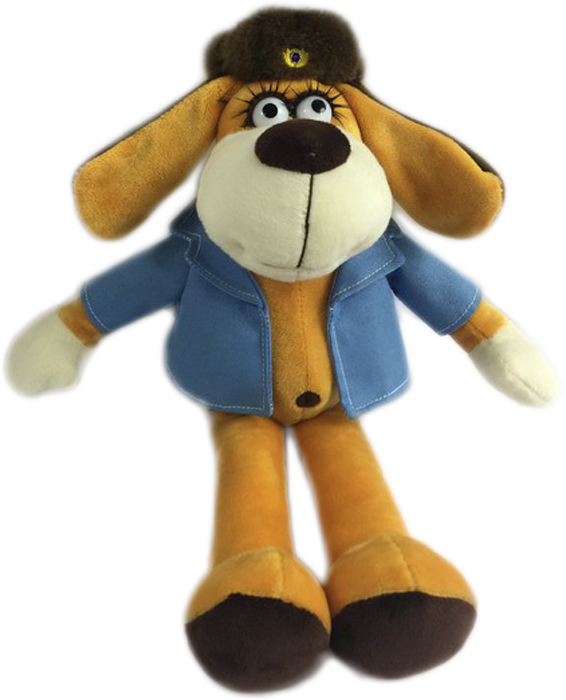 Teddy Мягкая игрушка Собака в голубом пиджаке 15 см