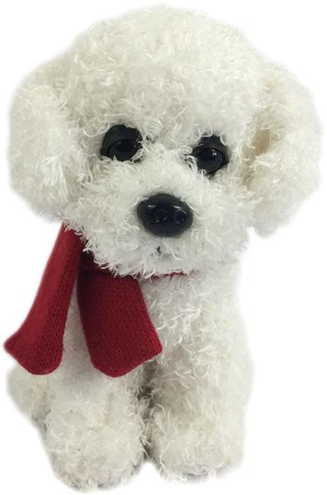 Teddy Мягкая игрушка Собака с шарфиком 16 см малышарики мягкая игрушка собака бассет хаунд 23 см