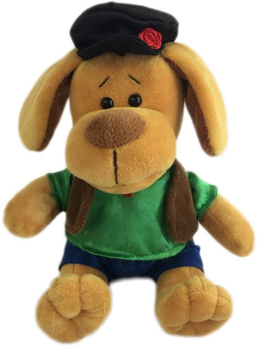 Teddy Мягкая игрушка Собака в кепке 15 см малышарики мягкая игрушка собака бассет хаунд 23 см