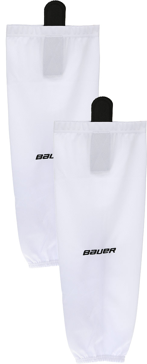 Хоккейные гамаши BAUER 600 Hockey Sock, цвет: белый. 1047740. Размер L/XL bauer nike hockey supreme 1000 referee hockey elbow pads