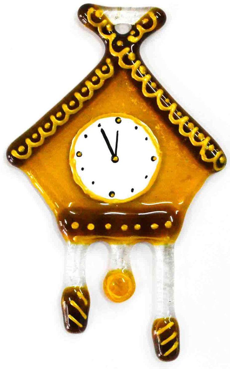 Украшение новогоднее подвесное Часы, 6 х 9,5 х 0,3 смЕС-9Елочная игрушка - символ приближающегося праздника. Она послужит прекрасным подарком как для ребенка, так и для взрослого, а также дополнит новогодний интерьер. Интересные часы будут отлично смотреться на праздничной елке.