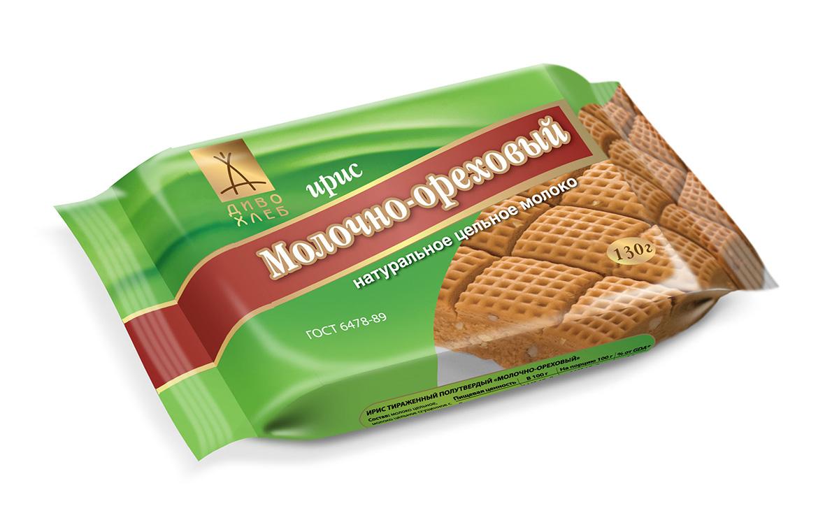 Диво-хлеб Молочно-ореховый ирис, 130 г