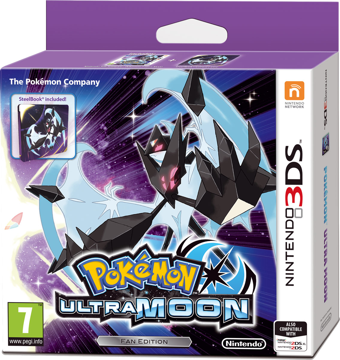 Pokemon Ultra Moon. Ограниченное издание (3DS)