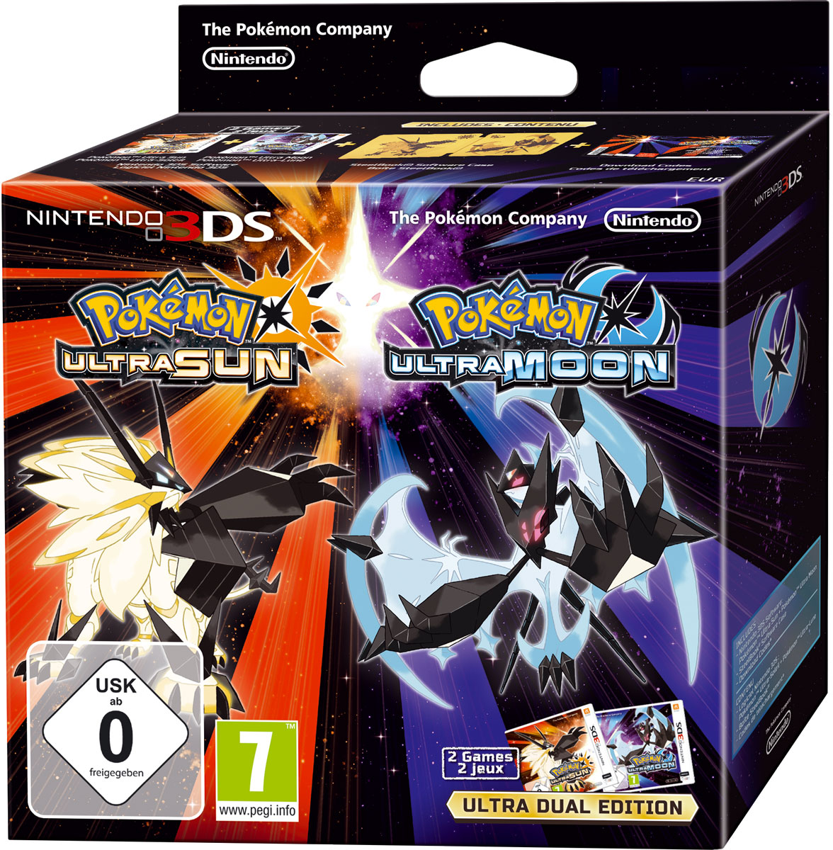 Pokemon Ultra Sun/Moon Deluxe Dual Edition. Ограниченное издание (3DS)