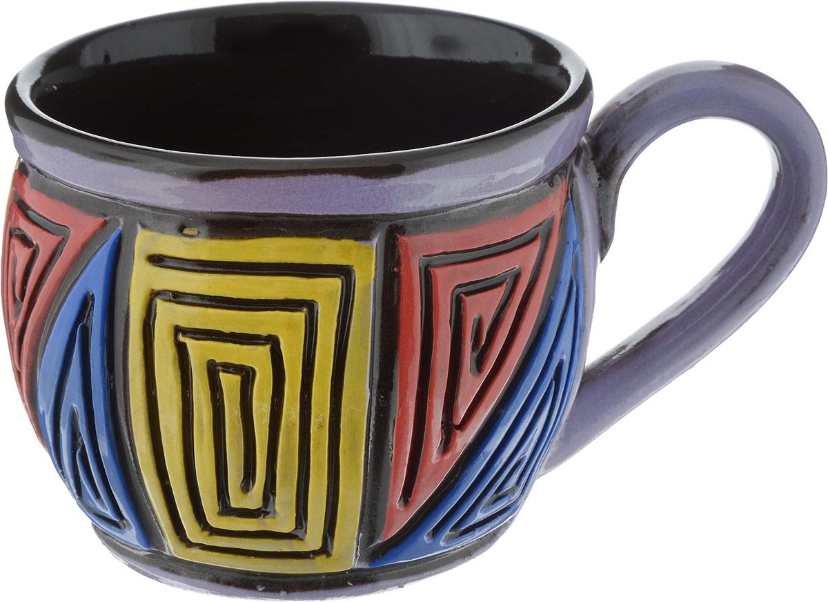 Чашка чайная Борисовская керамика Хэндмэйд, 300 млОБЧ00003214_дизайн 3