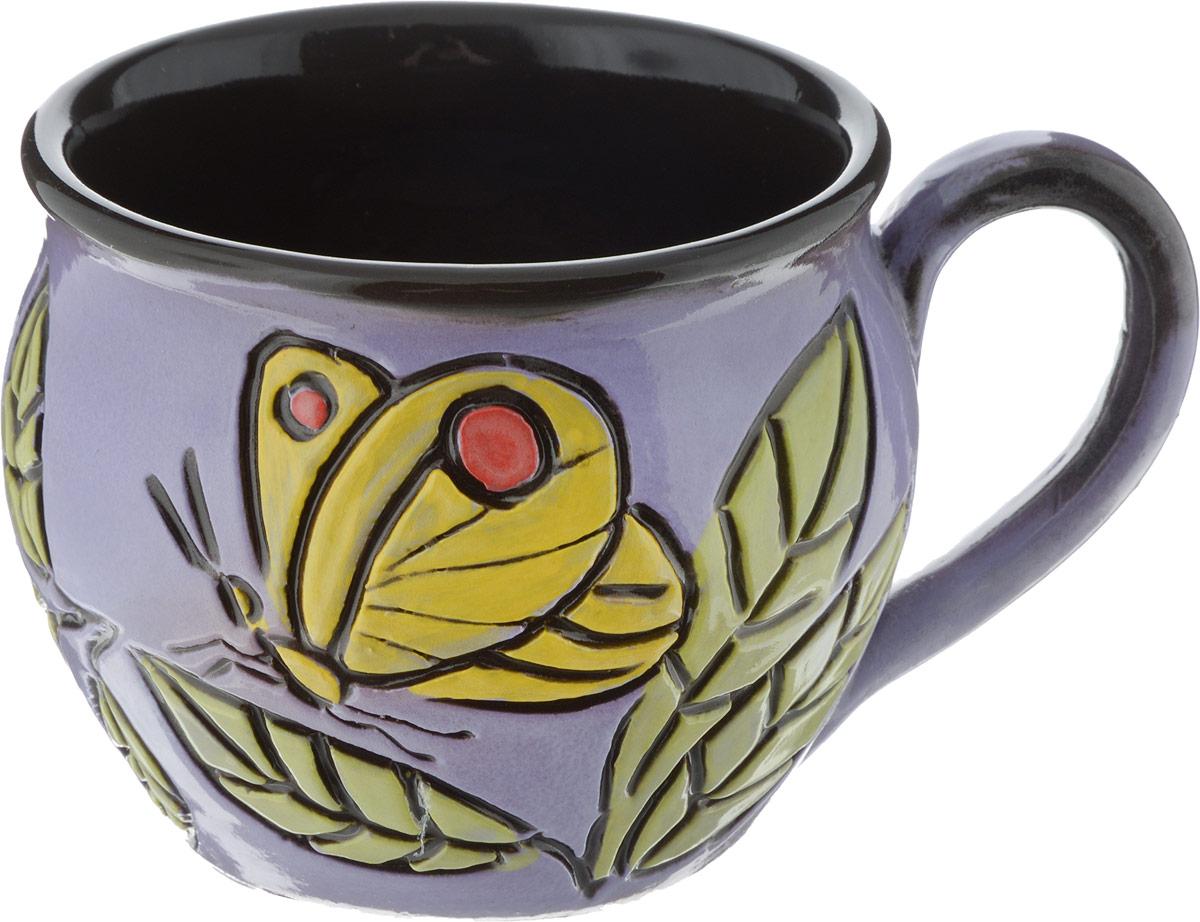 Чашка чайная Борисовская керамика Хэндмэйд, 300 млОБЧ00003214_дизайн 2
