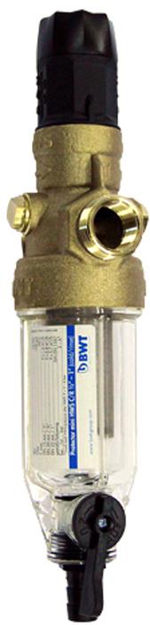 Водоочиститель BWT Protector Mini, для х/в, с редуктором 1/29022000105609Магистральный фильтр BWT Protector Mini устанавливается на линиях холодной воды дляочистки от механических примесей и контроля давления воды в квартире.